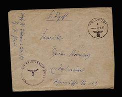 A5190) DR Feldpostbrief 22.6.41 V. Nr. L24183 N. Dortmund Luftwaffe - Allemagne