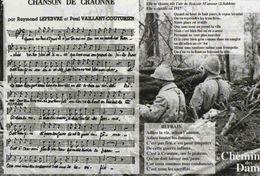 CPM  Guerre 14 18 Chanson De Craonne - Guerra 1914-18