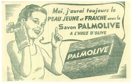 S Pal/ Buvard Savon Palmolive  (Format 21 X 14) (N= 1) - S