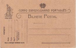 PORTUGAL  : GUERRE . CARTE FM . NEUVE . DU CORPS EXPEDITIONNAIRE . 1914/18 . - Lettres & Documents