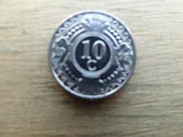 Antilles  Neerlandaises    10  Cents  1993  Km 34 - Antilles Neérlandaises