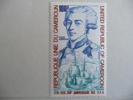 "Cameroun 1976  N° Y&T  PA  242  "" 200e Anniv. Independance   ""  1v.  Neuf - Cameroun (1960-...)"
