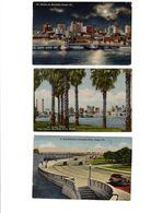 LOT DE 10 CARTES POSTALES DE TAMPA EN FLORIDE AVEC CORRESPONDANCES EN 1948 - Tampa