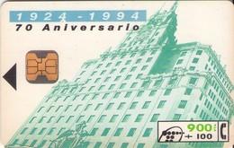 TARJETA TELEFONICA DE ESPAÑA USADA. 05.94 (442). 70 ANIVERSARIO DE TELEFÓNICA. - Spain