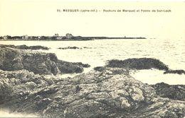 France -  Loire Inférieure - Mesquer - Rochers De Merquel Et Pointe De Ser-Loch - Chapeau Nº 32 - 4782 - Mesquer Quimiac