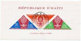 1962 - République D'Haiti - Contribution D'Haiti Pour La Lutte Conter Le Paludisme - Bloc N° 18 - Haiti