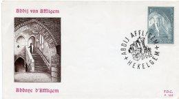1965 - Belgique - 350eme Anniversaire De La Reconstruction De L'Abbaye D'Affligem - Tp N° 1334 - FDC