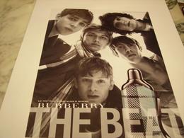 PUBLICITE AFFICHE PARFUM THE BEAT DE BURBERRY - Perfume & Beauty