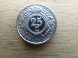 Antilles  Neerlandaises    25  Cents  2003  Km 35 - Antilles Neérlandaises