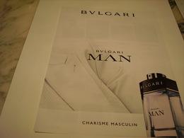 PUBLICITE AFFICHE PARFUM BULGARI - Perfume & Beauty
