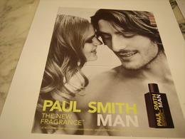 PUBLICITE AFFICHE PARFUM PAUL SMITH MAN - Perfume & Beauty