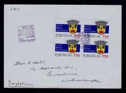 BEJA City 2000 Years Bullfight Corrida Brasons Coat Of Arms 1974 Fdc Sp5075 - 1910-... République