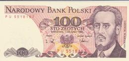 Rox  POLONIA 100 ZLOTYCH 1988 FDS - Polonia