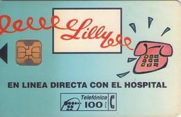 TARJETA TELEFONICA DE ESPAÑA USADA. 12.93 - TIRADA 7500 (445). LILLY. - Spain