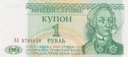 Rox  Transnistria - Pick 16 - 1 Ruble 1994 - Unc - Banconote
