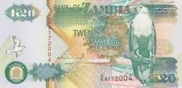Rox  Zambia  - 20 Kwacha 1992 - UNC - Zambia