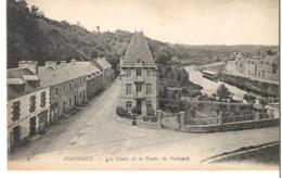 PONTRIEUX   Les Quais Et La Route De Paimpol - Pontrieux