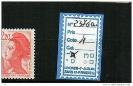 LIBERTE DE GANDON - N° 2376a - 1982-90 Liberty Of Gandon