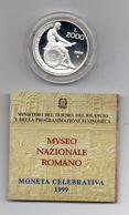 """Italia - 1999 - 2000 Lire PROOF """" Museo Nazionale Romano """" - Argento 835 - Con Custodia E Garanzia - (MW1196) - 2 000 Lire"""
