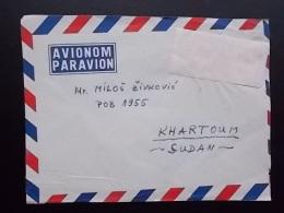 2639 - BELGRADE TO KHARTOUM - Sudan (1954-...)