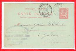 50 - SAINT SAUVEUR Le VICOMTE --   Maison LAUNAY - PILARD - Madame  DEBRIX, Suc. - Saint Sauveur Le Vicomte