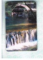 GRECIA (GREECE) -  2000 - WATER FALLS    - USED - RIF.   35 - Greece