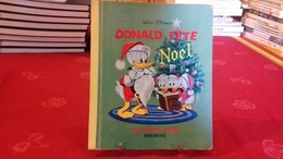 Les Albums Roses - WALT DISNEY - Donald Fête Noël 1961 (93R16) - Disney