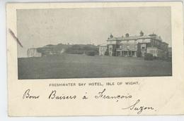 ROYAUME UNI - ENGLAND - ISLE OF WIGHT - FRESHWATER BAY HOTEL - Angleterre
