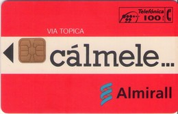 TARJETA TELEFONICA DE ESPAÑA USADA. 10.94 - TIRADA 24000 (448). CALMELE... - Spain