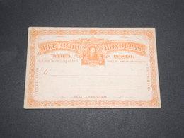 HONDURAS - Entier Postal Non Circulé -  L 13705 - Honduras