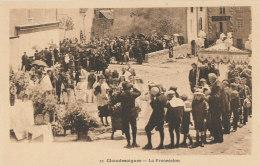 15 // CHAUDESAIGUES    La Procession  12 - Altri Comuni