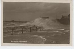 ROYAUME UNI - ENGLAND - LANCASHIRE - Stormy Sea - MORECAMBE - Angleterre