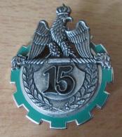 Insigne Militaire - 15e RT (Régiment De Train ) - Drago G 4177 - Très Bon état - Army