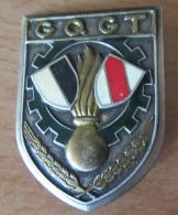Insigne Militaire - GQGT ( Groupement De Quartier Général Et De Transit) - Drago G 2311 - Emaillé - Army