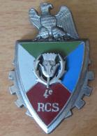 Insigne Militaire - 4e RCS (Régiment De Commandement Et De Soutien) - Delsart G 2552 - Emaillé - Army