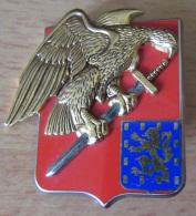 Insigne Militaire - BA 177 (Base Aérienne Auxerre) - GUYMO - Emaillé - Très Bon état - Airforce