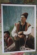 Ukrainian Types. SAWYER - Lumberjack -  SAW,  - Old PC 1957 - Ucraina