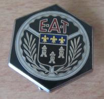 Insigne Militaire - E.A.T (Ecole D'Application Du Train) - Ballard G 972 - Emaillé - Army
