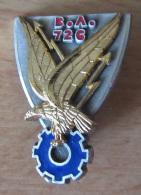 Insigne Militaire - BA 726 (Base Aérienne Nîmes) - Drago A 591 - Emaillé - Airforce