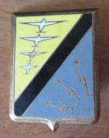 Insigne Militaire - BA 922 ( Base Aérienne De Doullens) - Drago A 540 - Emaillé - Armée De L'air