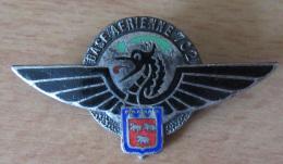 Insigne Militaire - BA 702 (Base Aérienne Avors) - Drago Paris - Emaillé - Airforce