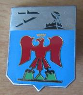 Insigne Militaire - Centre De Détection Et De Contrôle 5/943 Nice-Mont-Agel - Delsart A 1071 - Emaillé - Airforce