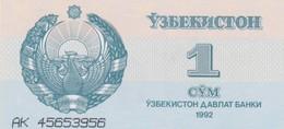 Rox  Uzbekistan 1 Sum 1992 - Uzbekistan