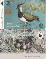 LATVIA - Bird, Exp.date 06/01, Used - Latvia