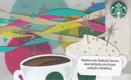 BRAZIL - Starbucks Card, CN : 6105, Unused - Gift Cards