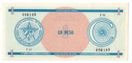 KUBA FX 1 Peso Serie C UNC - Cuba