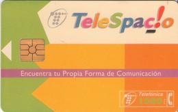 TARJETA TELEFONICA DE ESPAÑA USADA. 05.96 (450). TELESPACIO. - Spain