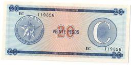 KUBA FX 20 Pesos Serie C UNC - Cuba
