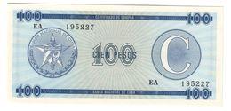 KUBA FX 100 Pesos Serie C UNC - Cuba
