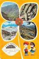 ANDORRE - MULTI VUES ET CARTE SOUVENIR - Andorre